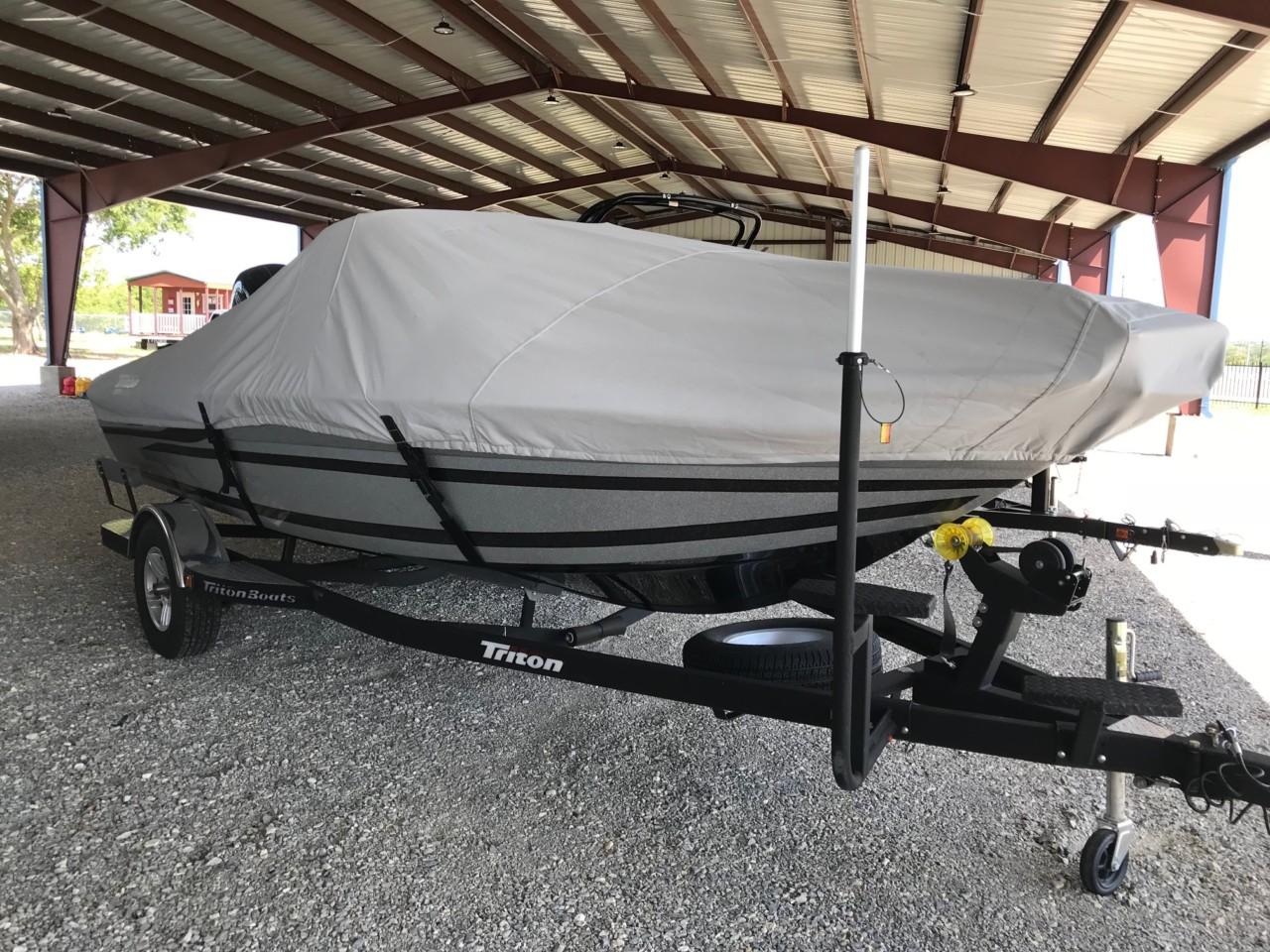 2016 Triton 186 Fishunter W/ 150 Mercury 4stroke