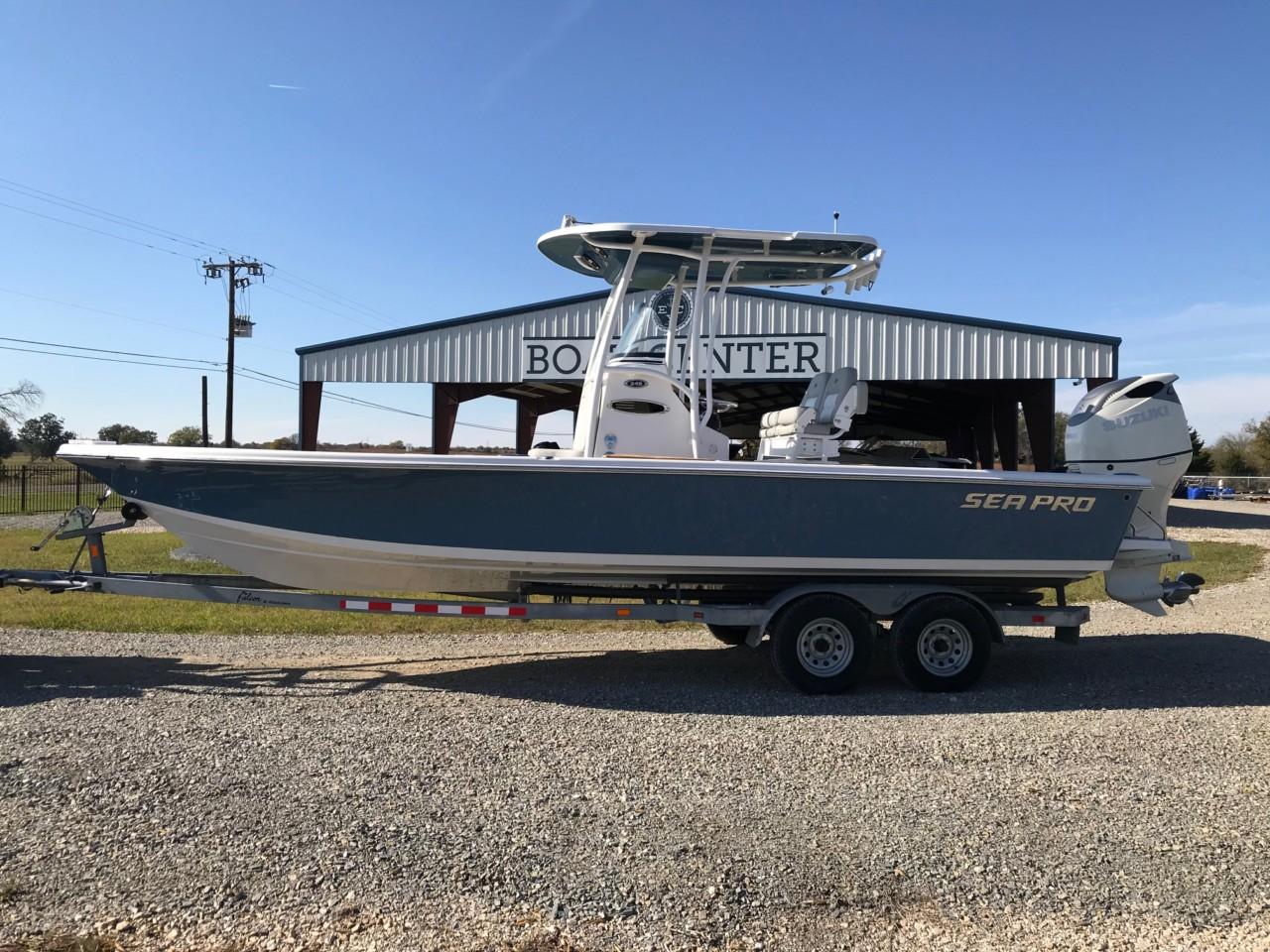 2019 Sea Pro 248 Bay Series