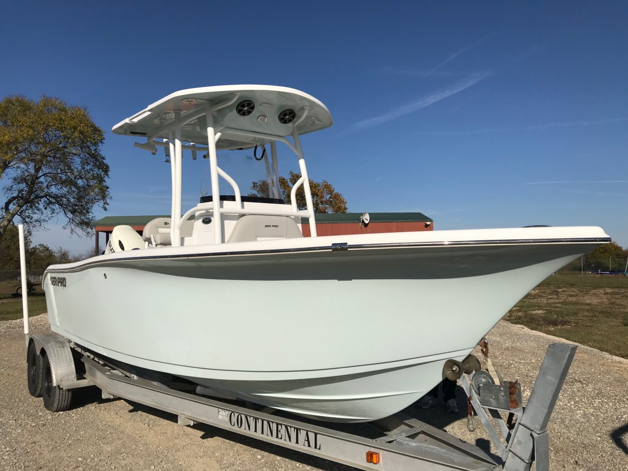 2019 Sea Pro 219 Deep V Center Console