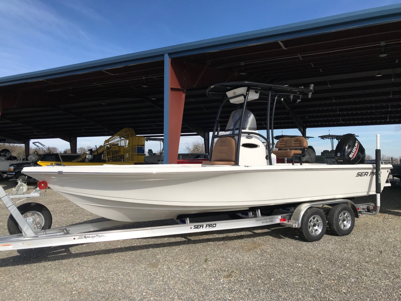 2019 Sea Pro 248 Bay Series