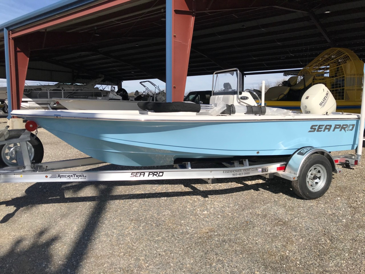 2019 Sea Pro 172 Bay Series