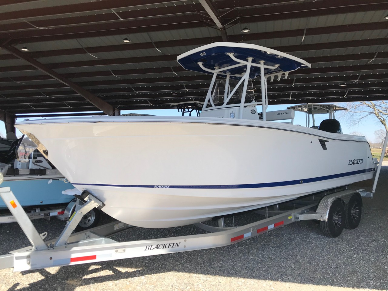 2019 Blackfin 242 Center Console with 350 Mercury Verado